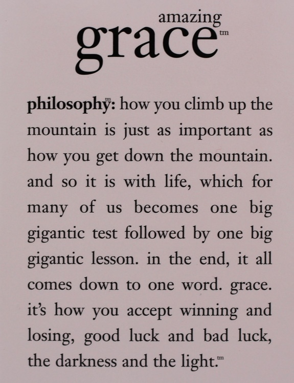 Grace Quotes Unique 8 Best Savedgrace Images On Pinterest  Grace O'malley Thoughts . Review