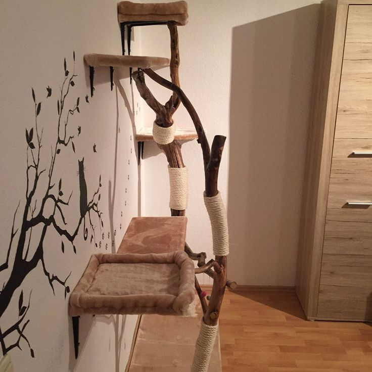 die besten 25 kratzbaum selber bauen ideen auf pinterest. Black Bedroom Furniture Sets. Home Design Ideas