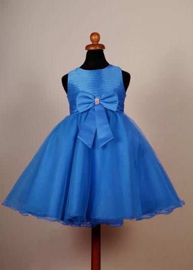 """Φορέματα για Παρανυφάκια - Επίσημα Φορέματα για Κορίτσια :: Καινούριο Σχέδιο 2015 Παιδικό Φόρεμα σε Τυρκουάζ για βάφτιση, Παρανυφάκι, Πάρτυ """"Rosemary"""" - http://www.memoirs.gr/"""