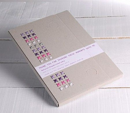 Cardboard folder with wool decoraration, // Visit us: http://selfpackaging.com/0051-millboard-document-wallet-36.html?size=2