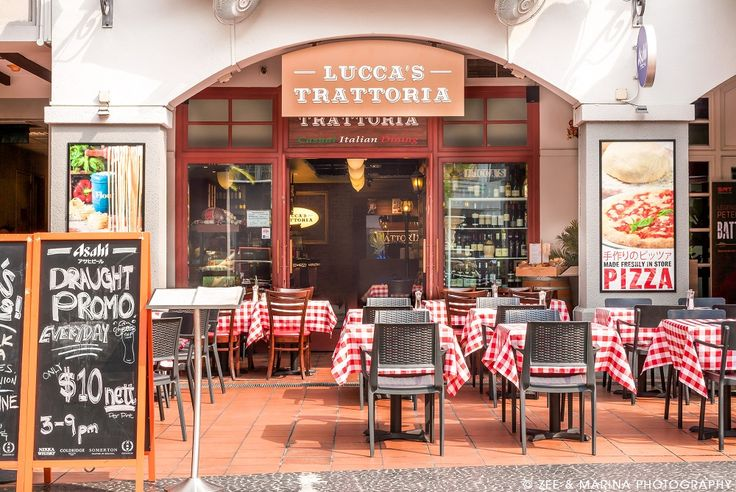 Robertson Quay's new restaurant serves up traditional, home-cooked Italian cusine from Lucca, a city in Tuscany. The 70-seater space mimics a quaint European bistro with plush leather dining booths, exposed red brick walls, red checked table cloths, wooden furniture and an open kitchen-simple, comfortable and none-too-fancy.