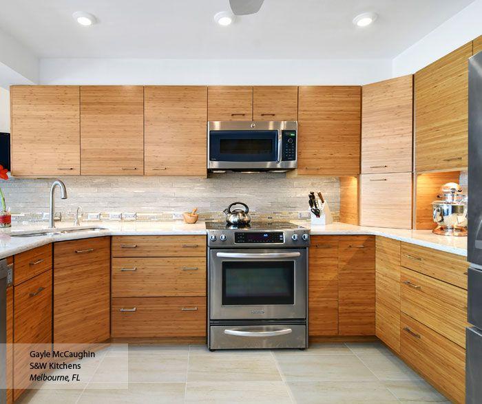 Natural Bamboo Kitchen Cabinets Omega Cabinetry Bamboo Kitchen Cabinets Kitchen Cabinets Bamboo Cabinets