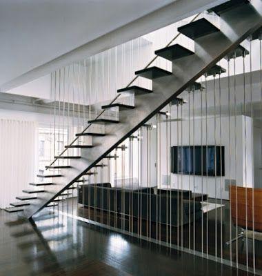 mẫu cầu thang đẹp hiện đại