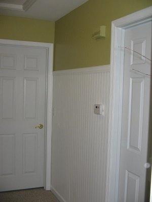 Hallway Beadboard Tall Cabinet Storage Home Storage