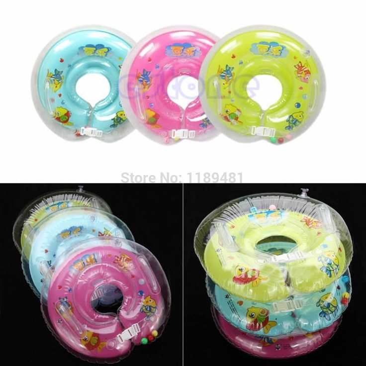Baby Kids Infant Swimming Protector Neck Float Ring Safety Life Buoy Life Saver