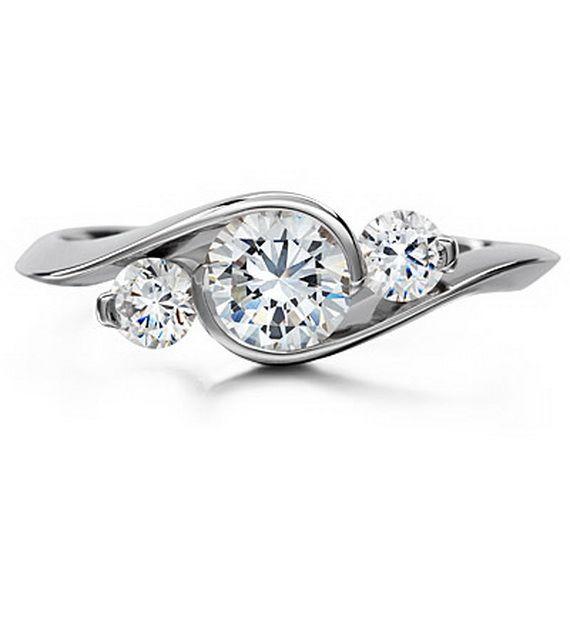 Three Stone Rings  http://www.stylisheve.com/three-stone-rings/