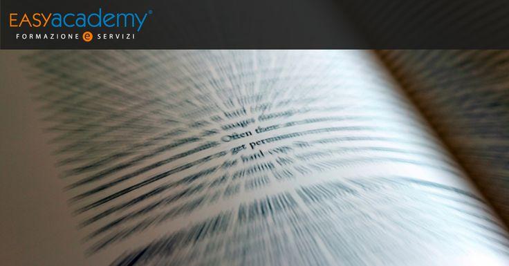 Vuoi migliorare le tue perfomance di lettura? Iscriviti al corso #easyacademy in Lettura Veloce! ▶▶▶▶ http://ow.ly/4nu8cV
