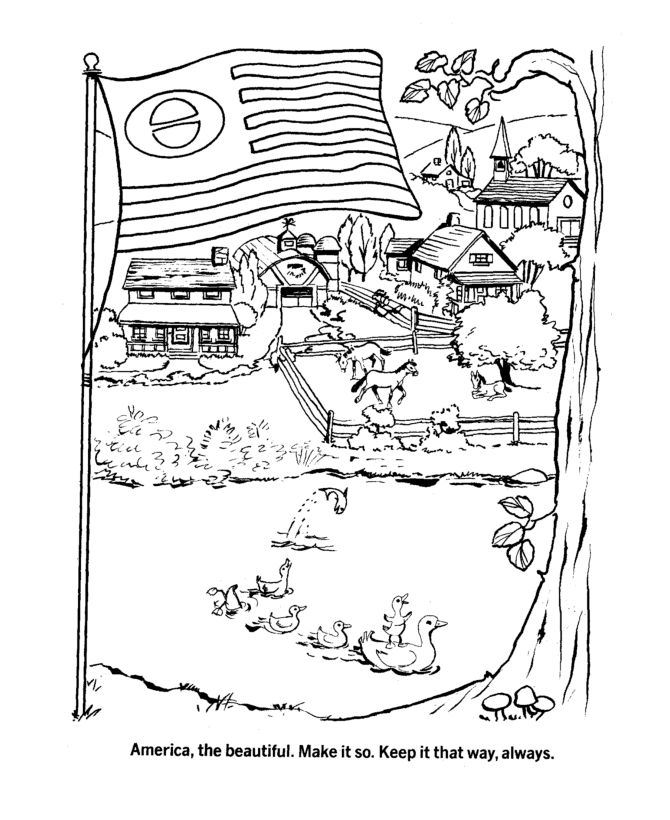 earth day coloring page earth day across america