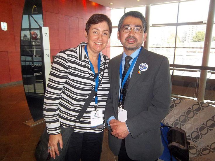 Con Beatriz Sanchez en ENAMA 2013