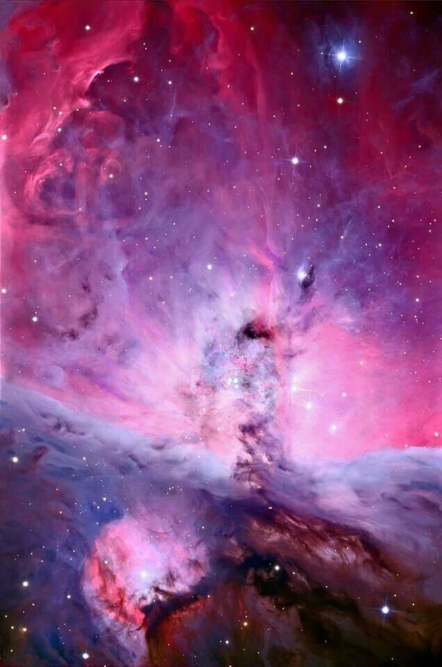 ORION NEBULA MAGAO..TAKEN BY EARTH BASED SCHULMAN TELESCOPE  ON LEMMON MTN. SKY CENTER
