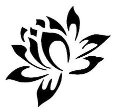 Lotus flower tattoo stencils | Like Tattoo - ClipArt Best - ClipArt Best