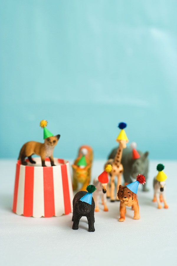 Toy Animal Party Hats