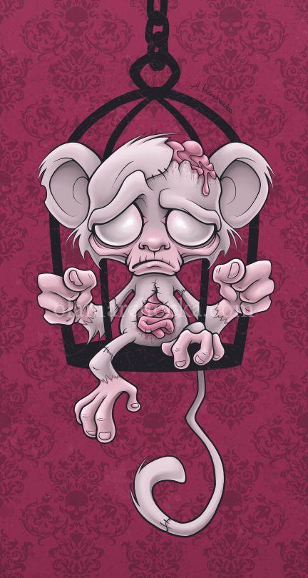 Poor Little Monkey  encerrado y angustia