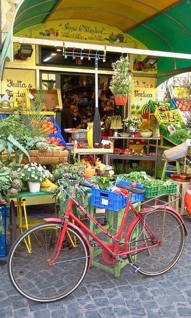 Market in Italy