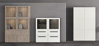 Vai a mobili per il soggiorno, librerie, vetrine e scaffali