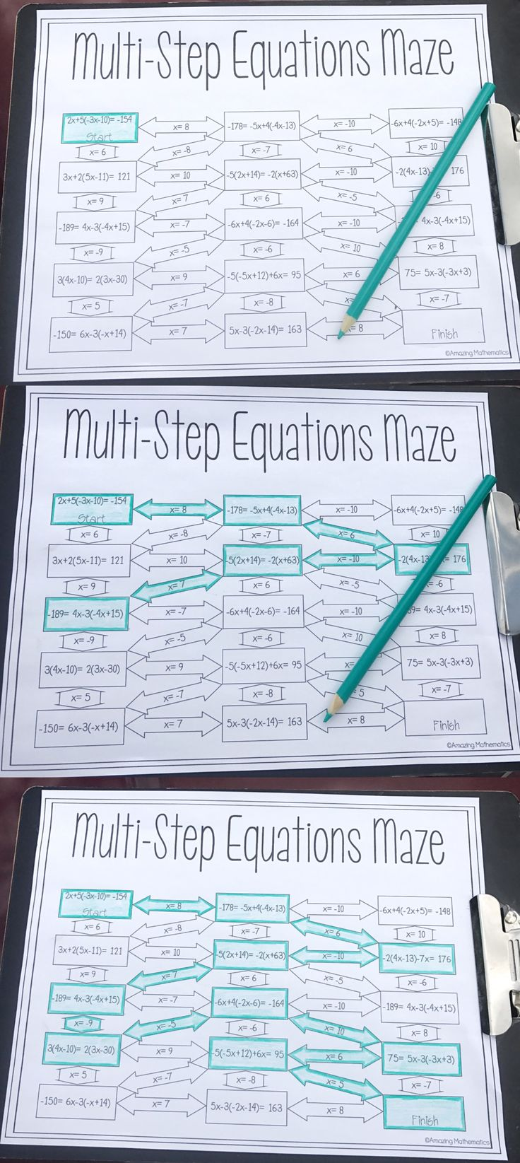 Best 25+ Algebra worksheets ideas on Pinterest | Algebra, Solving ...