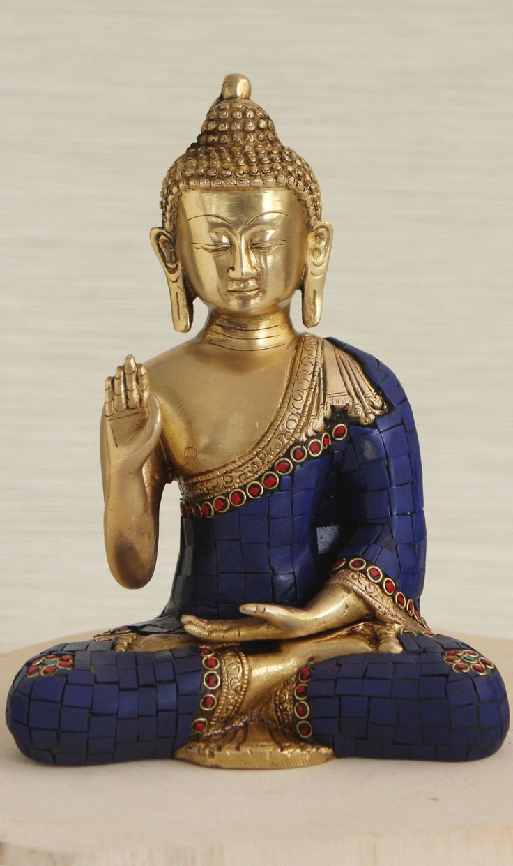 """So our human life but dies down to its root, and still puts forth its green blade to eternity. "" ~ Henry David Thoreau * Brass Buddha Statue <3 lis"