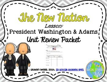 George Washington and John Adams Review Packet • • Precedents of George Washington  • Washington's Cabinet  • Hamilton's Financial Plan  • National Bank  • Strict vs. Loose Interpretation of the Constitution  • Whiskey vs. Shays' Rebellion  • Federalists vs. Democratic-Republicans  • Washington's Farewell Address  • The Northwest Territory  • XYZ Affair  • Alien & Sedition Acts
