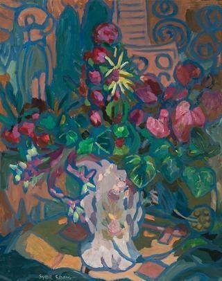 Sybil Craig, Still Life With Flowers