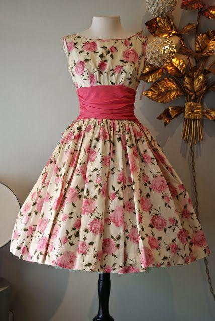 "The ""Betty"" dress. Gorgeous! Xtabay Vintage Clothing Boutique - Portland, Oregon"