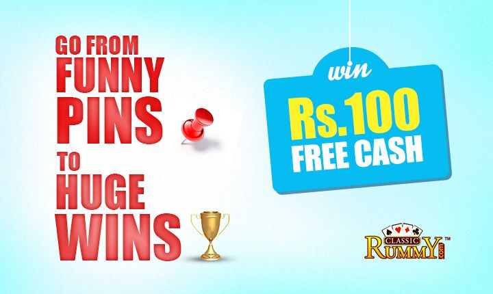 """Pin the best Rummy image and win Rs.100 every week Pin us @ https://www.pinterest.com/classicrummy/pin-to-win-contest/  The player has to do the following:  1.Follow us on Pinterest & boards 2.Pin any classic rummy or rummy funny images along with the hashtag """"#classicrummy"""" 3.Like our boards/pins 4.Comment of the pins shared by classicrummy 5.Give us the best testimonial 6.Click on send to Classic Rummy on Pinterest  #rummy #classicrummy #rummygames #Indianrummy #playrummy #rummyonlin"""