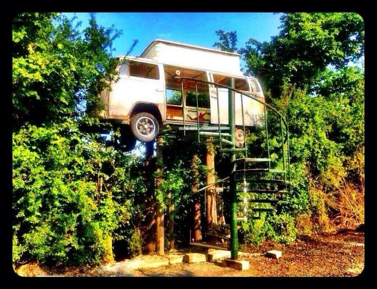 Instead of a Tree house.....
