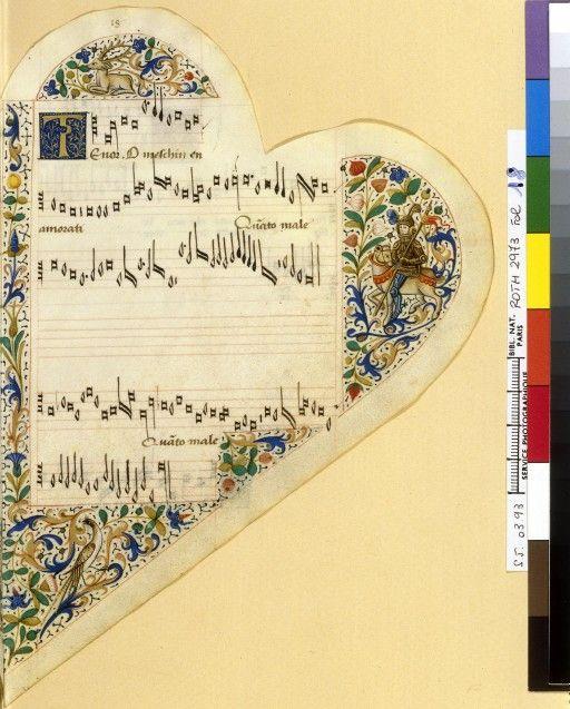 Книги в форме сердца. 15-16 век. Master of the View of St Gudula Young Man Holding a Book, ca. 1480 Песенник.15th-century French songbook В форме сердца делались молитвенники (часословы) и песенники, которые…
