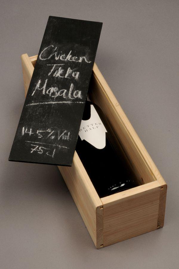 Better Half Wine Packaging & Branding by Daniel Green, via Behance