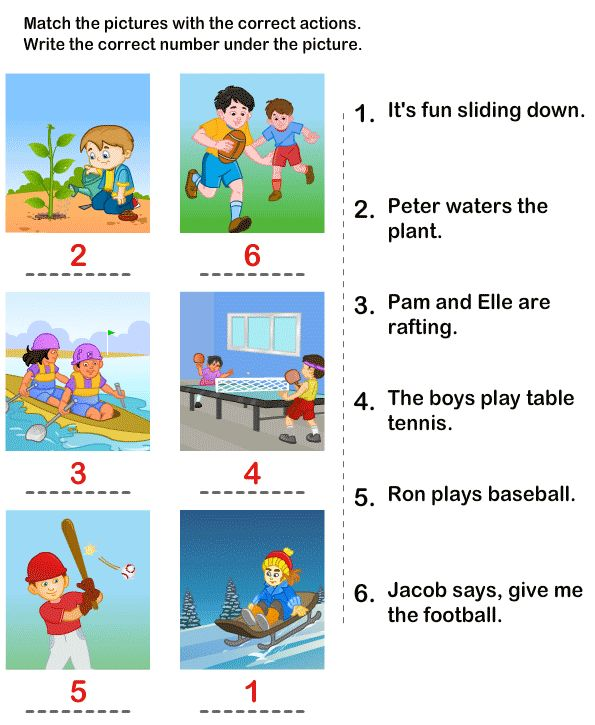 Worksheet Sentence Comprehension Worksheets 1000 images about comprehension on pinterest language printable kids learning activity picture sentence worksheets