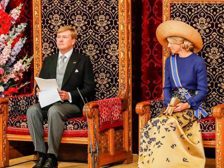 不安定な世界の中で強いオランダ 国王のスピーチ