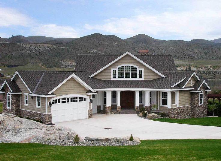 Plan 23253JD: Dramatic Craftsman Home Plan