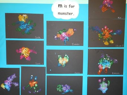 Love this idea of creating pictures of monsters by blow painting!!! Sherborne Abbey Church Of England Voluntary Controlled Primary School - Reception Class