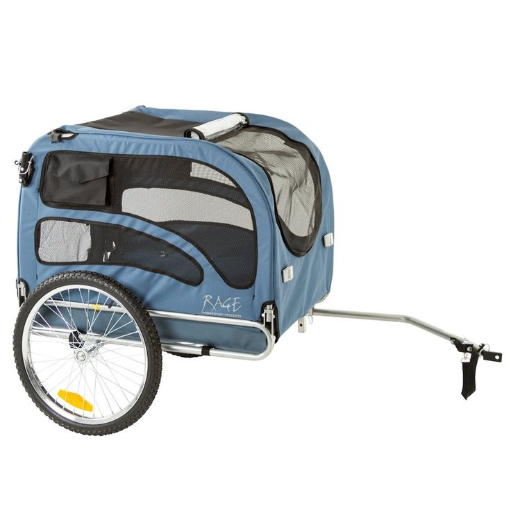 Amazon.com : Blue 2-in-1 Pull-Behind Dog Bike Carrier Bicycle Pet Trailer : Pet Trailer And Strollers For Large Dogs : Pet Supplies