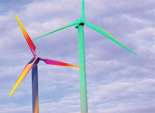 Horst Glasker Transforms Drab Wind Turbines Into Inspiring Works of Art.