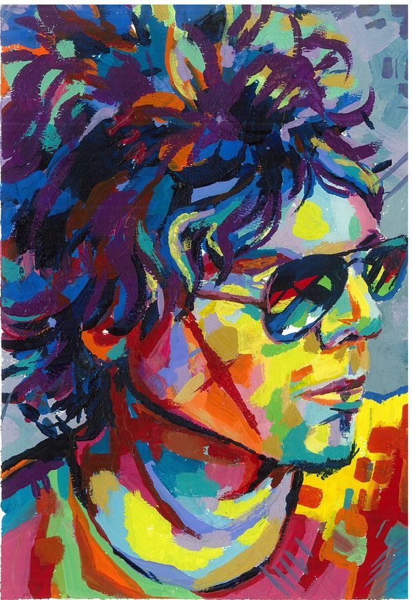 Fauvism | Self Portrait - fauvism by ~nashaath on deviantART