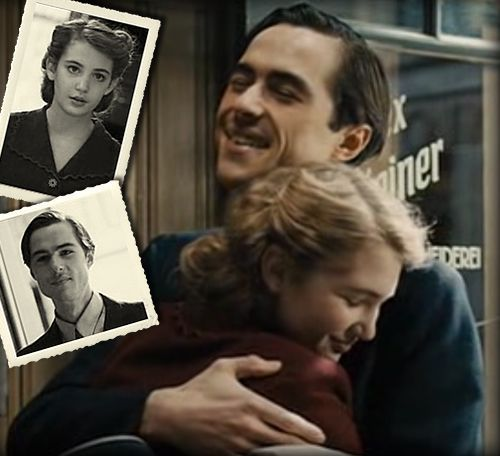 best the book thief assignment images the book  the book thief max and liesel hugging out probably the last time they will see