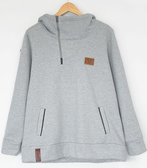 Whatever Forever Hooded Casual Sweatshirt
