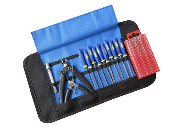 Set 5 Craft Model Hobby Tools Kit For Modellers And by GNToolsLtd