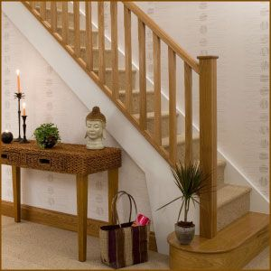 staircase in oak - Google Search