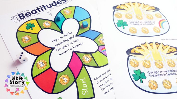 St. Patrick's Day Bible Activity Pack Bible activities