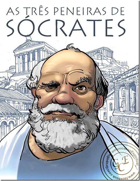 RS Notícias: As três peneiras de Sócrates