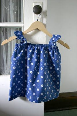 Sparkle Power!: Ruffle Sleeve Top Tutorial - will have to make some of these for the lil princess of the house