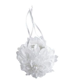 "Wilton® 3""X5"" GardeniaWedding Flower Basket-White"