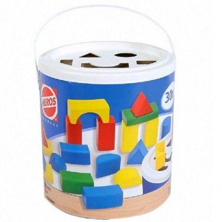 Witajcie w poniedziałek, tak samo jak wy - uwielbiamy:)   Heros 11810 Sorter - Kolorowe Drewniane Klocki w Kształcie Figur Geometrycznych zapakowane w poręczne, tekturowe pudełko z uchwytem do trzymania.   Zestaw pozwala na tworzenie budowli, wieży, dróg.  Dzieci rozwijają swoją kreatywność.  Sprawdźcie sami:)  http://www.niczchin.pl/drewniane-klocki-heros/3088-heros-11810-drewniane-klocki-sorter.html  #heros #klockidrewniane #klockidladzieci #zabawkizdrewna #niczchin #kraków