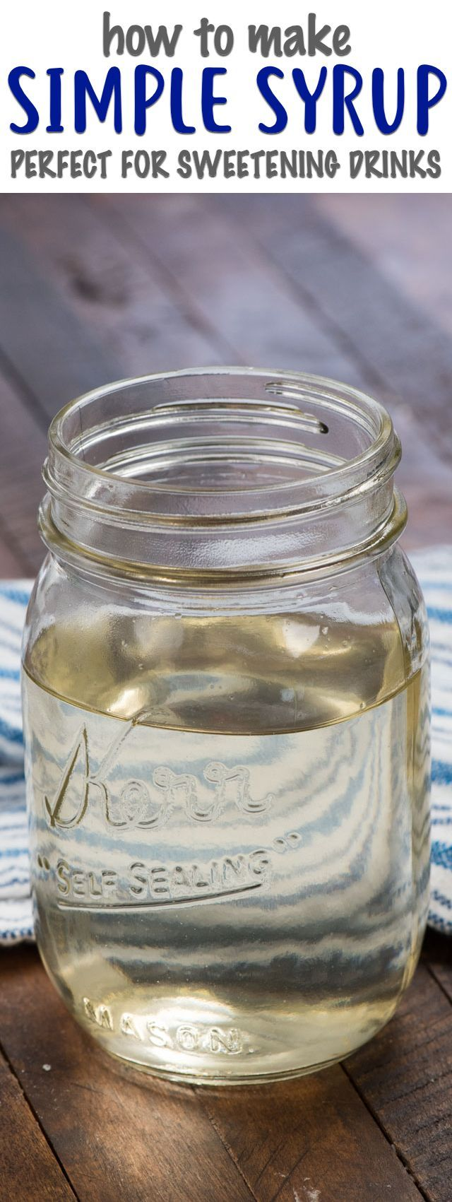 Have you ever wanted to sweeten lemonade or a cocktail recipe? Simple syrup is t…