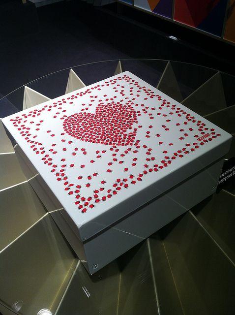 #icona box, by @Moschino for #altreforme, #arlecchino collection at Salone del Mobile 2012 #interior #home #decor #homedecor #furniture #aluminium
