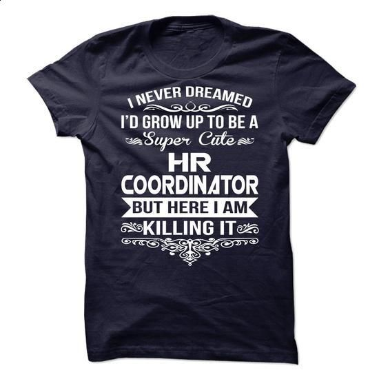 HR Coordinator  - #t shirts #work shirt. CHECK PRICE => https://www.sunfrog.com/No-Category/HR-Coordinator--66276723-Guys.html?60505