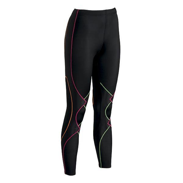 CW-X Women's Tights - Expert Compression Tights with Joint Support. CW-X Conditioning Wear Expert tights are now available in Black and Rainbow!