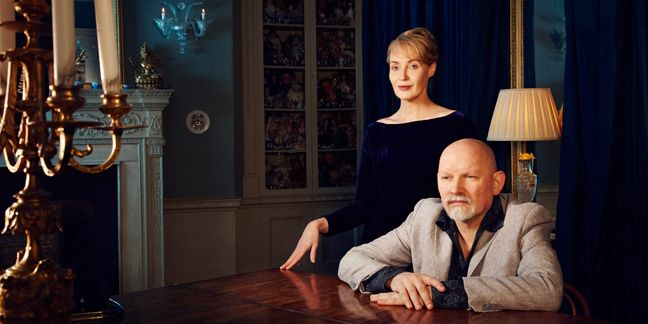 """As the experimental rock duo return with their first new album in 16 years, vocalist Lisa Gerrard talks about the gift and curse of being """"afflicted with an artistic soul."""""""