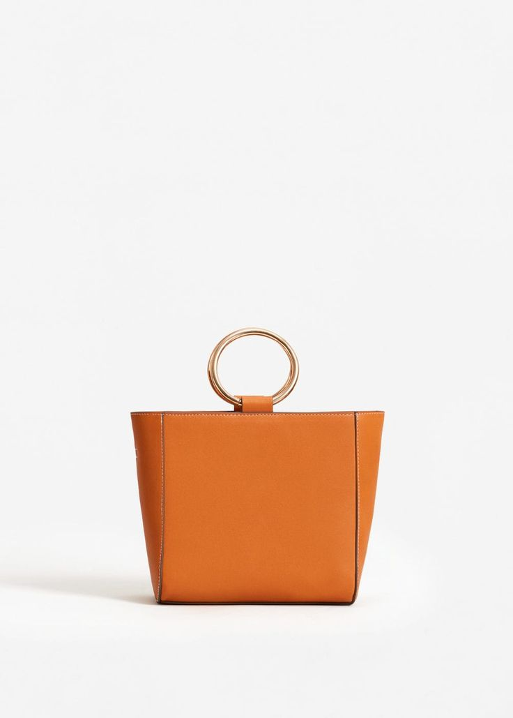 Mango JULIA - Shopping Bag - sand